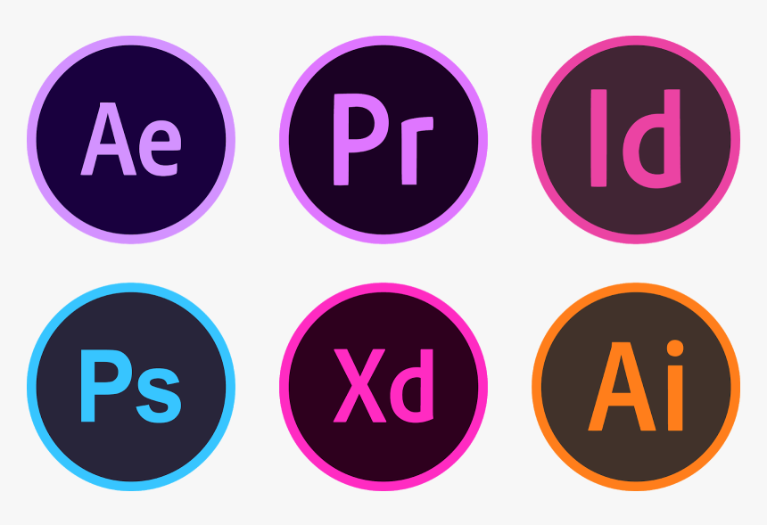 Adobe CC - After Effects, Premiere Pro, Indesign, Photoshop, XD, Illustrator